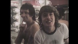 "Bon Scott and Angus Young 11/8/1978 - ""it's like infinity rock and roll"""