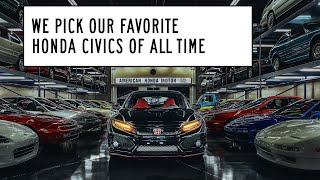 homepage tile video photo for The Best Honda Civic of All Time: Window Shop with Car and Driver