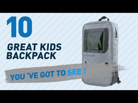Nintendo Kids Backpacks // Amazon UK Most Popular