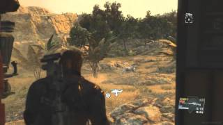 Metal Gear Solid 5 Phantom Pain - Legendary Ibis Location (zone Of The Enders Easter Egg)