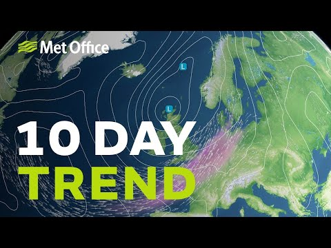 10 Day Trend – High Pressure Next Week? 14/08/19