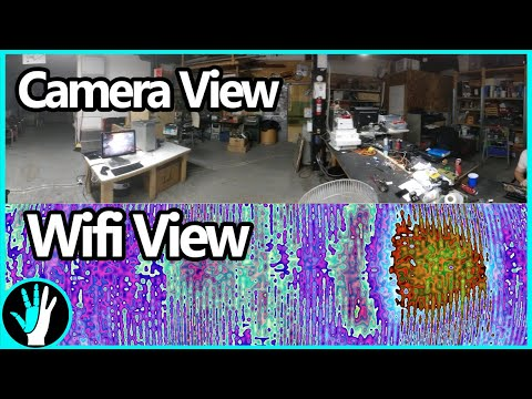 Building a Camera That Can See Wifi | Radio Telescope V2 - P