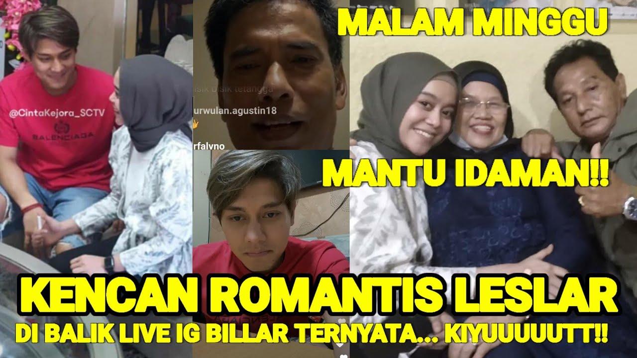 KENCAN ROMANTiS LESLAR, Di Balik Live IG Billar, TERNYATA??? Kiyuuuttt!!!