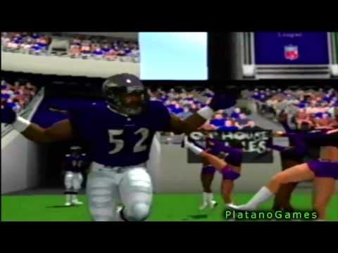 Madden NFL 2002 - Boot Up Sequence And Intro + Menu - PSX Version - HD