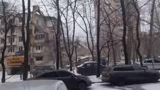 Терминатор в действии  Снос пятиэтажки на М Филёвской 16