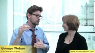 Do Something: George Weiner talks with Susan McLennan