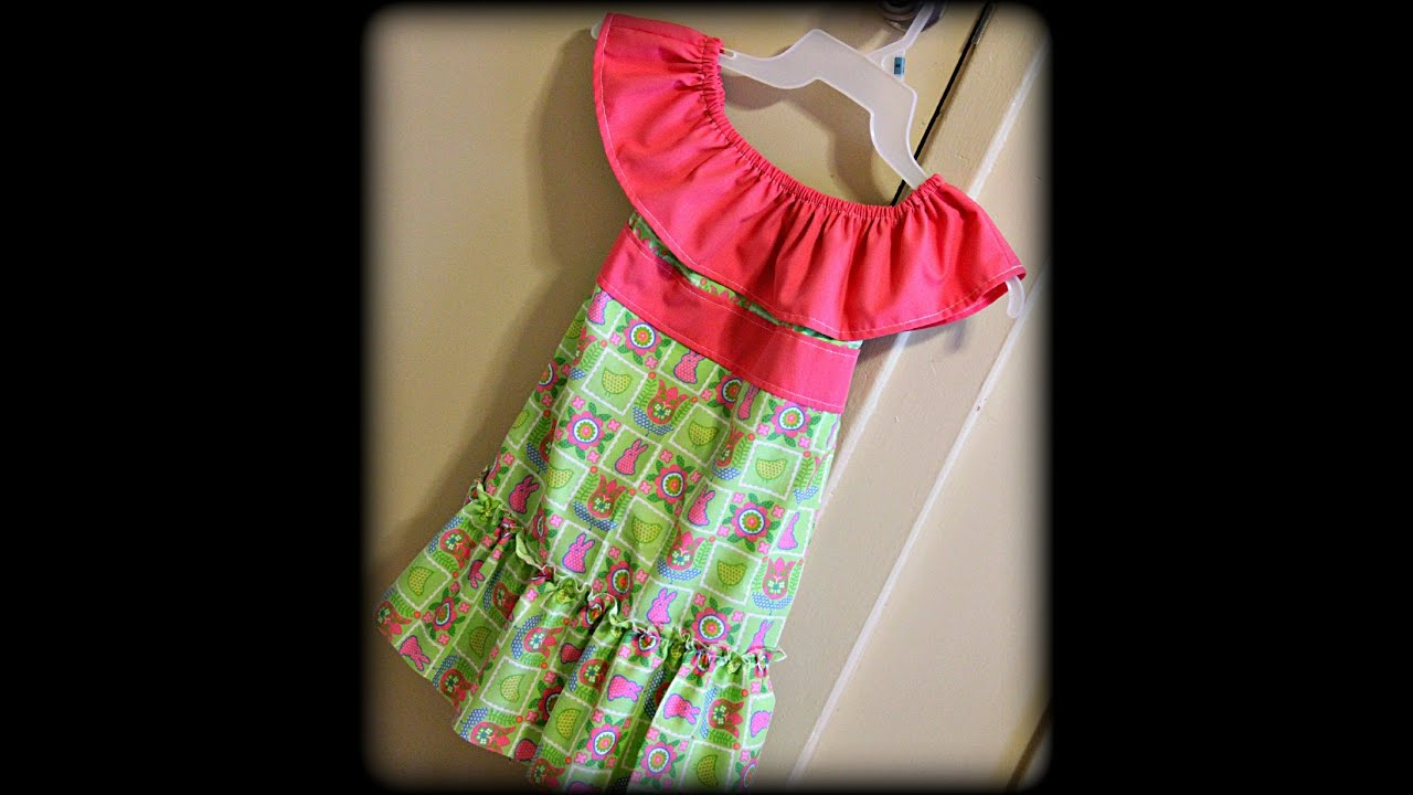 Toddler easter dress tutorial sewing for beginners youtube