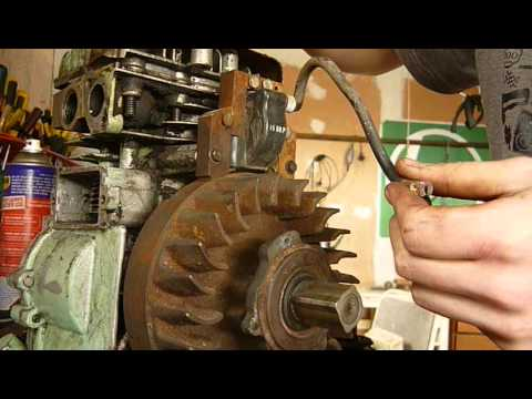 hqdefault how to install electronic coil on briggs and stratton youtube briggs and stratton points and condenser wiring diagram at mifinder.co