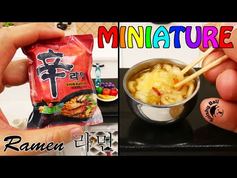 Miniature Shin Ramen REAL Cooking Fun!