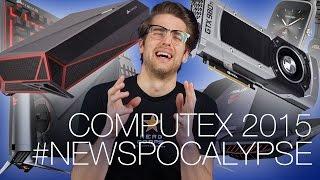 Computex Roundup Part 1! Corsair Bulldog, Windows 10 Release Date, R9 380