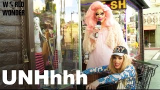 Enjoy the video? Subscribe here! http://bit.ly/1fkX0CV Trixie & Katya go outside the World of Wonder studio to ask the people of Hollywood Blvd deep and ...