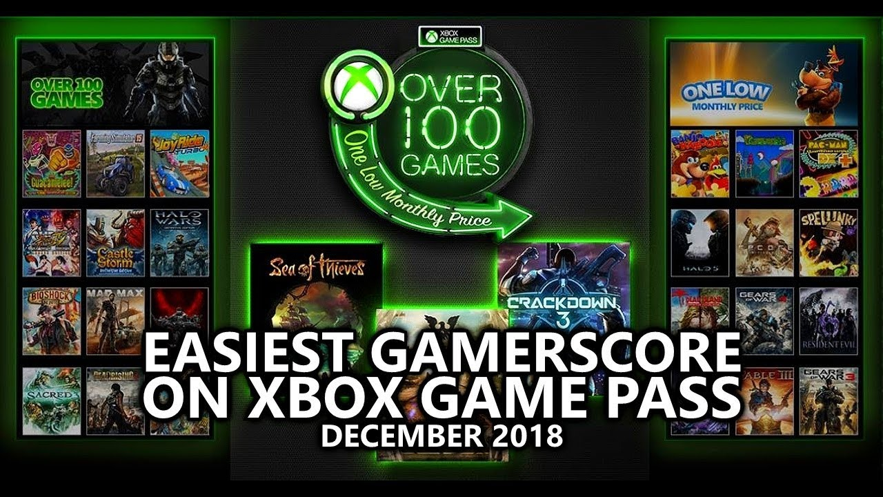 Easiest Xbox Game Pass Games For Gamerscore 2018 Updated
