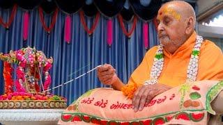 Guruhari Darshan 26 Aug 2015, Sarangpur, India