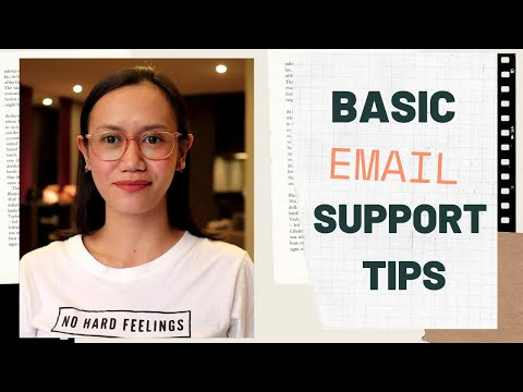 Basic EMAIL Customer Support Tips | EMAIL Customer Service Tips For Beginners