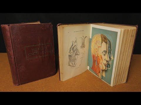 Vintage 1920's Medical Books ASMR