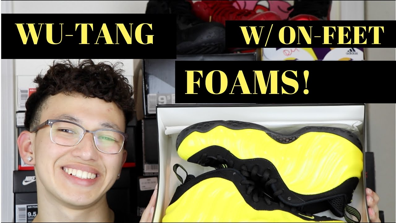 competitive price bc349 ed47f WU-TANG FOAMS REVIEW   ON-FEET
