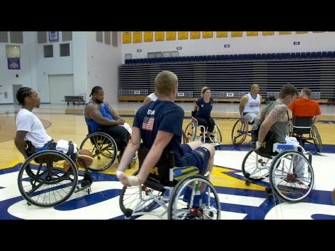 Heroics on the playing field at Invictus Games