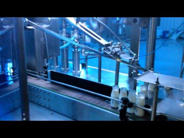 Şişe dolum kapatma makinesi makinası/ bottle filling machine