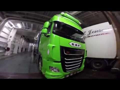 Crossing Waters! Color Line: Larvik - Hirtshals - Norway Trucking - William de Zeeuw