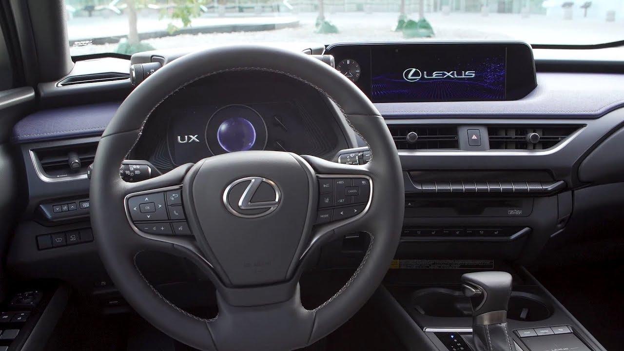 2019 lexus ux 250h interior us spec