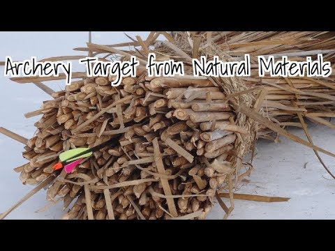 Bushcraft Archery Target From Natural Materials