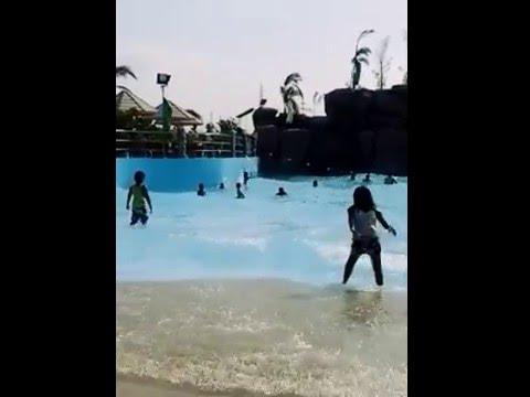 Wave Pool at Sea Breeze Resort, Taguig City, Philippines