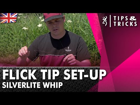 How to Set up a Flick Tip - Whip Fishing Tactics 2021