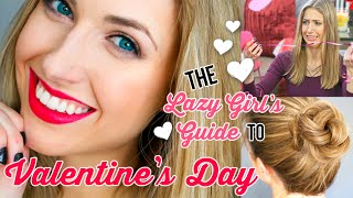 Lazy Girl's Guide #5 || Valentine's Day Diy Gifts, Activities & Makeup Ideas!