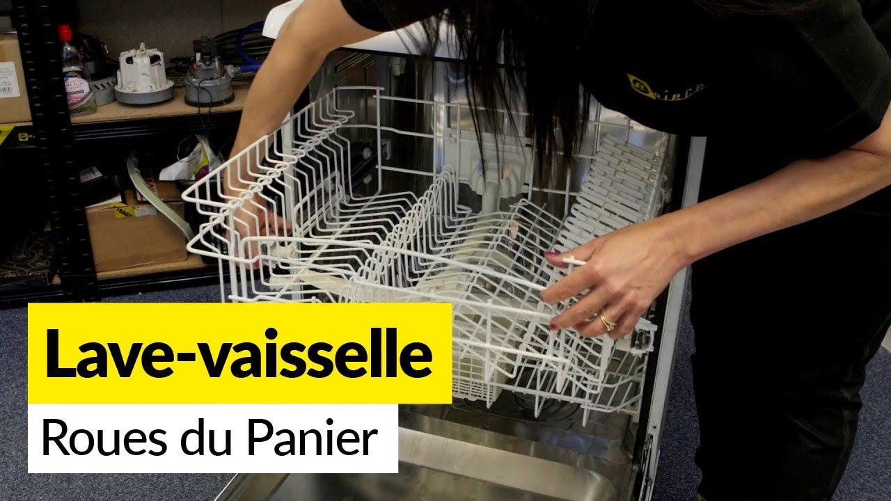 Comment Changer Les Roulettes De Panier Dun Lave Vaisselle