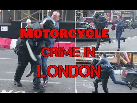 London Moped Thefts and crime