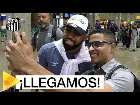 Os BASTIDORES da chegada do Santos ao Uruguai
