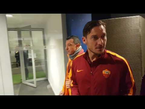 Lione-Roma, Totti: Ti manca Roma? Quella manca a tutti