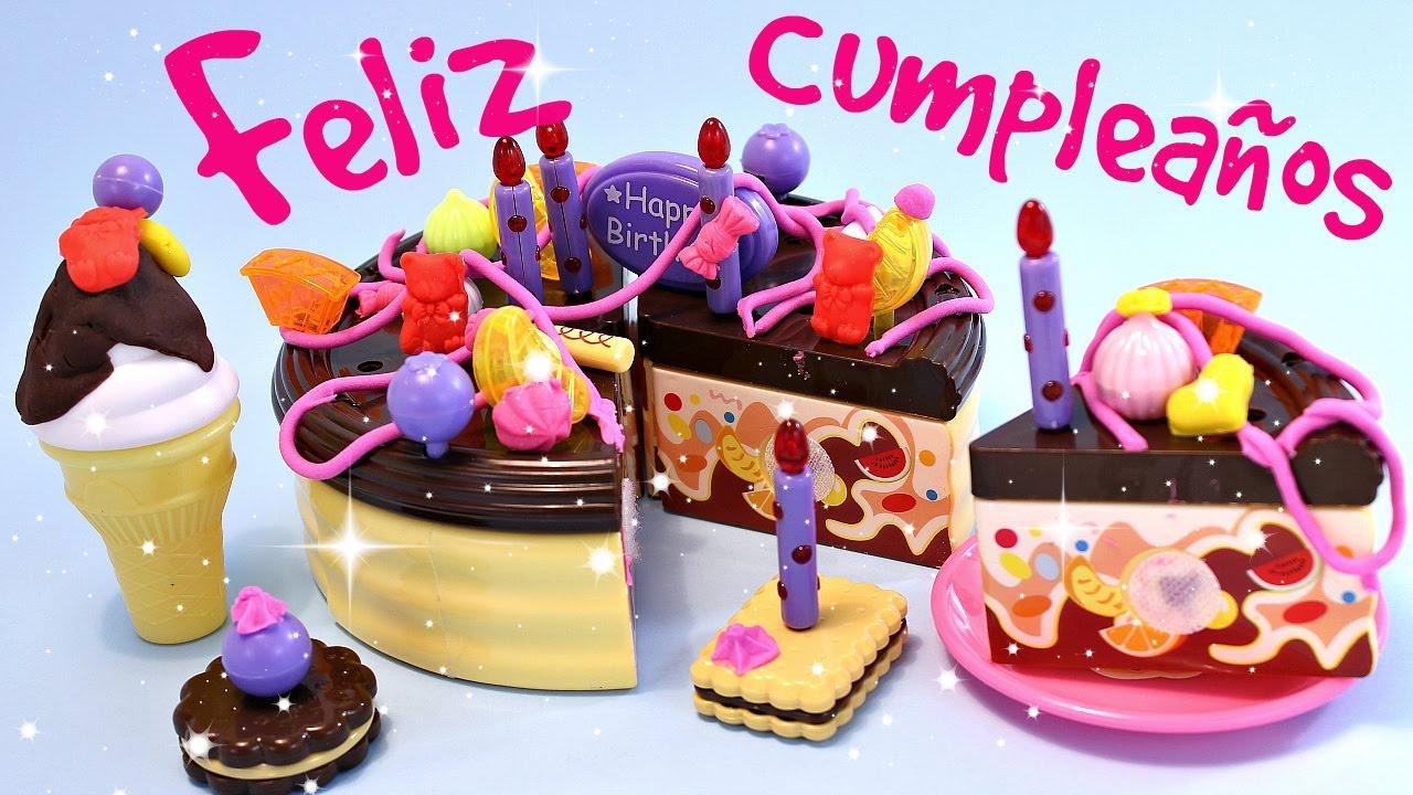 Imágenes Pasteles Bonitos Para Cumpleaños: Pastel De Juguete De Cumpleaños Con Plastilina• Comida