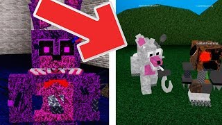 Roblox Animatronic world NEW Twisted Funtime Foxy with Gallant Gaming! Twisted Animatronics!