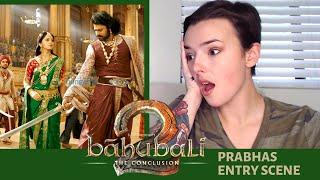 Bahubali 2 - Prabhas Entry Scene Telugu HD ||Head cut Scene | REACTION!!! | Indi Rossi