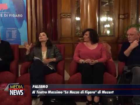 """Al Teatro Massimo di Palermo in scena l'opera buffa """"Le nozze di Figaro"""""""