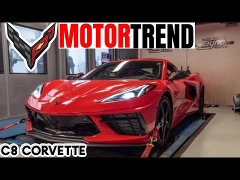 2020 C8 Corvette Mid Engine DYNO Numbers Released by *MotorTrend*