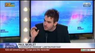 Copie de BFM Business - Paul Morlet vs Stéphane Soummier - Lunettes Pour Tous