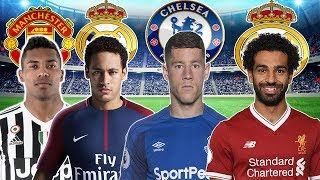 January Transfer News 2018   Neymar and Salah to Real Madrid and much more!!!!