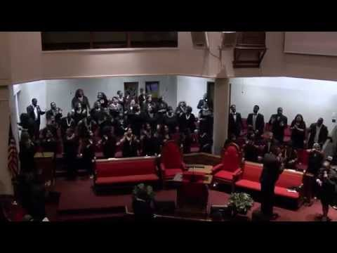 'Ye Shall Receive Power' (Ricky Dillard) Voices of Mt Zion Choir