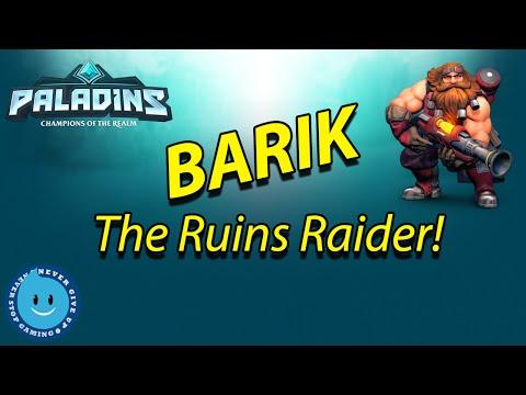 Paladins - BARIK GAMEPLAY! THE TRUE TURRET KING! (Paladins Open Beta)