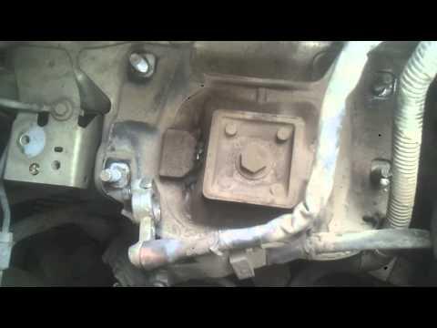 Замена подушки двигателя ФОРД