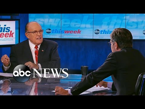 The Conservative Circus with James T. Harris - Watch Rudy Giuliani Dominate And Turn The Tables on George Stephanopoulos