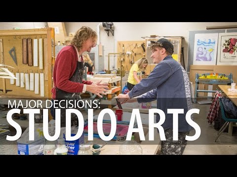 Major Decisions: Studio Arts