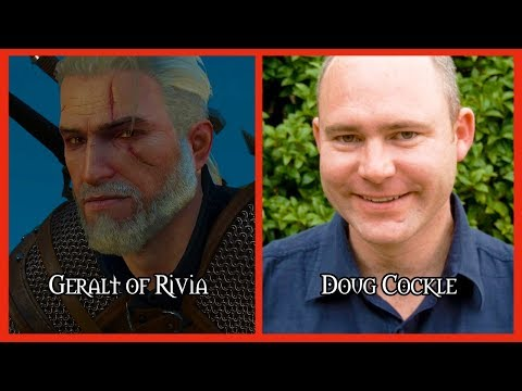 Characters and Voice Actors - The Witcher 3 (Updated)