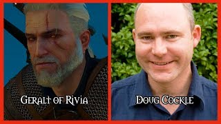 Characters and Voice Actors - The Witcher 3 Updated
