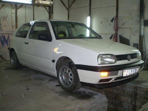 Volkswagen Golf 3 переварка порогов, арок, задней панели и покраска