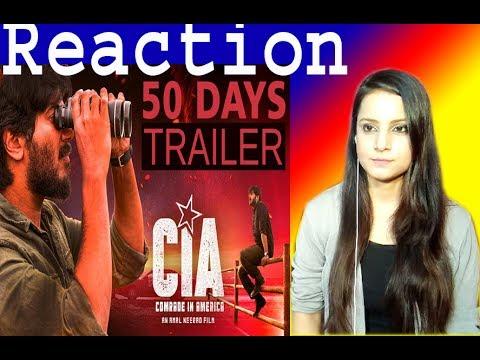 Comrade In America CIA | 50 Days Trailer | Dulquer Salman| Amal neerad | | reaction