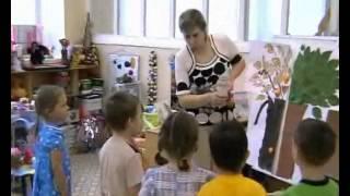 Видио - занятие с детьми, в детском саду, по экологии(Занятие с воспитанниками в детском саду