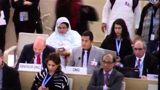 Intervention during 37th UNHRC by Dusan Vejinovic (EFSAS) on 9th March 2018